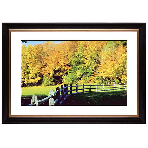 "Golden Autumn Giclee 41 3/8"" Wide Wall Art"