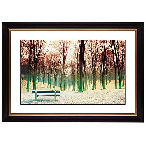 "Bare Trees Giclee 41 3/8"" Wide Wall Art"