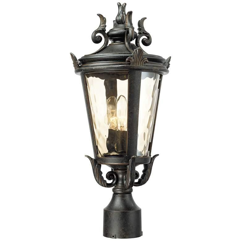 """Casa Marseille™ 20 1/2"""" High Bronze Outdoor Post Light"""