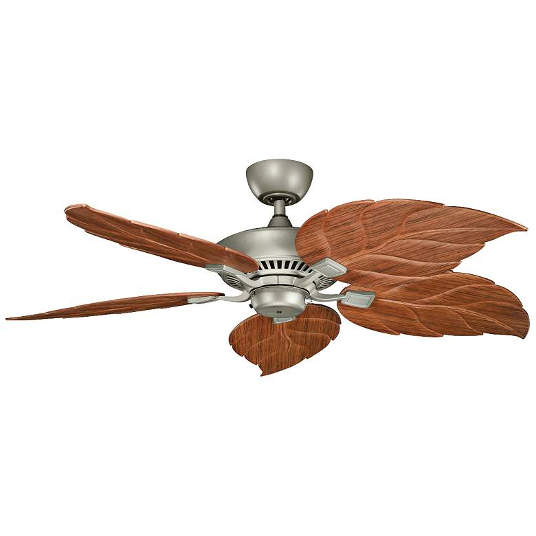 """52"""" Canfield Climates™ Silver Outdoor Ceiling Fan"""