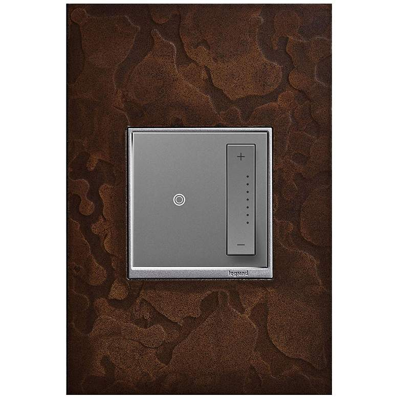 adorne Hubbardton Forge Bronze 1-Gang Wall Plate w/