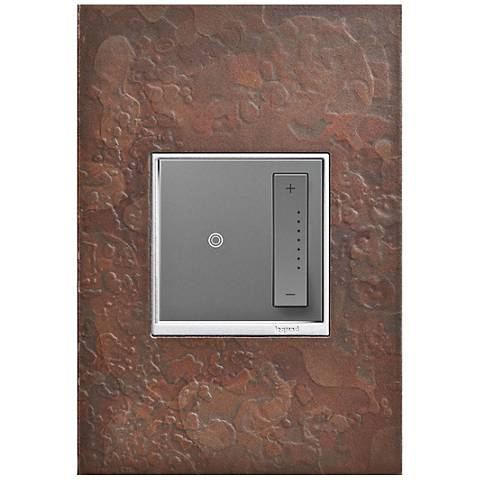 adorne Hubbardton Forge Mahogany 1-Gang Wall Plate w/ Dimmer