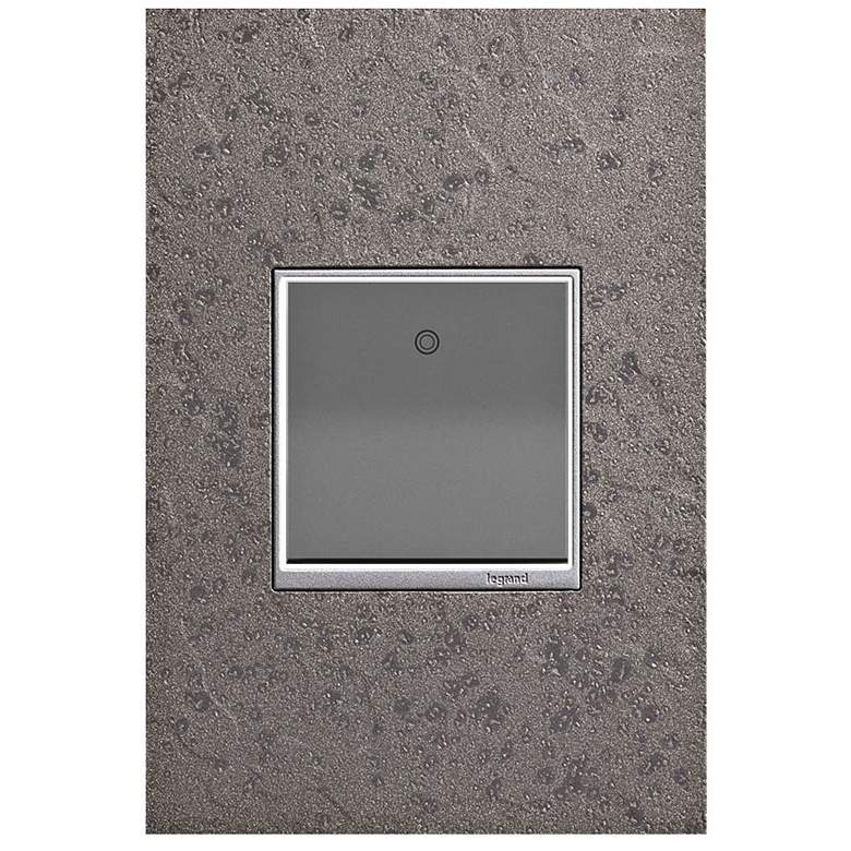 adorne Natural Iron 1-Gang Wall Plate w/ Paddle