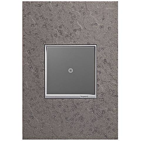 Hubbardton Forge Natural Iron 1-Gang Wall Plate w/ sofTap Switch