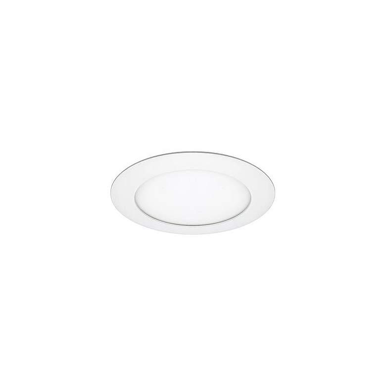 "6"" Round 15 Watt LED Retrofit Trim w/ Mounting Plate"
