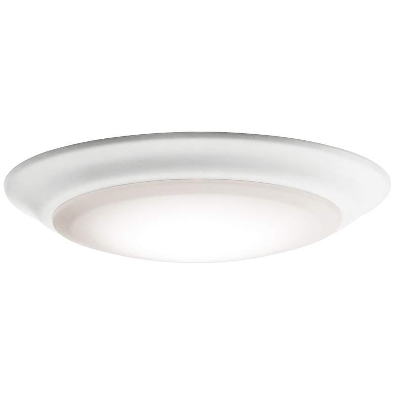 "6"" White 2700K 1000 Lumen LED Surface-Mount or Retrofit Trim"