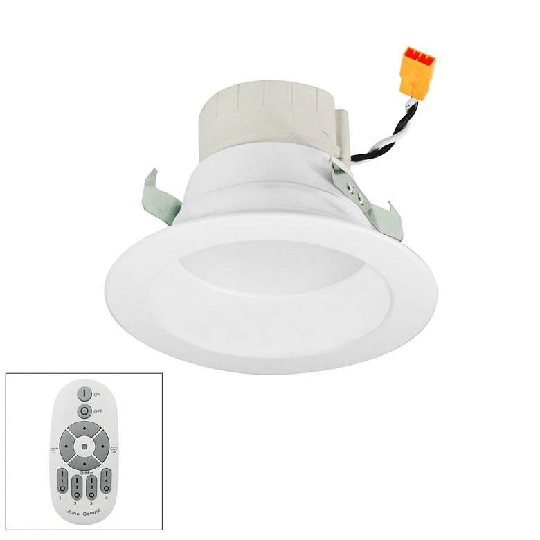 "Prism 4"" White LED Zone Remote Retrofit Reflector Downlight"