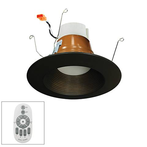 "Nora Prism 5""/6""  LED Remote Retrofit Baffle Downlight"