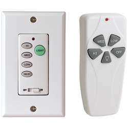 Wall System + HH Remote Dimmable 188 and Below Motor