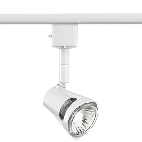 White LED GU10 Track Light Head for Lightolier Systems W/ Bulb