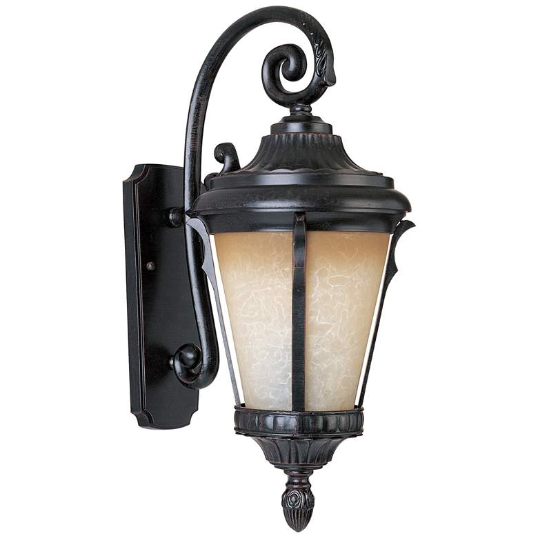 "Maxim Odessa 26 1/2"" High Espresso Outdoor Wall Light"
