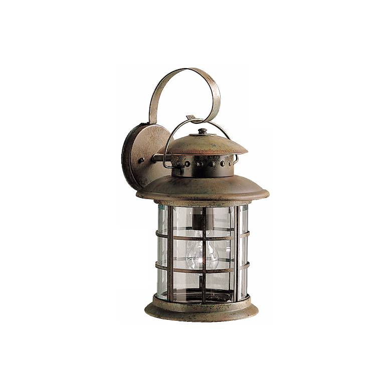 """Kichler Rustic 18"""" High Outdoor Wall Light"""