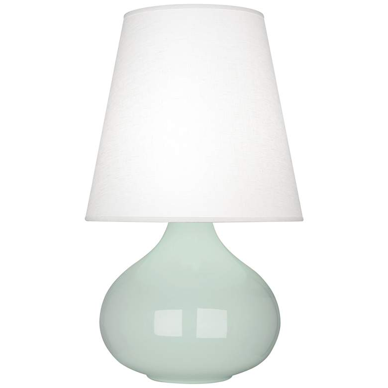 Robert Abbey June Celadon Table Lamp with Oyster