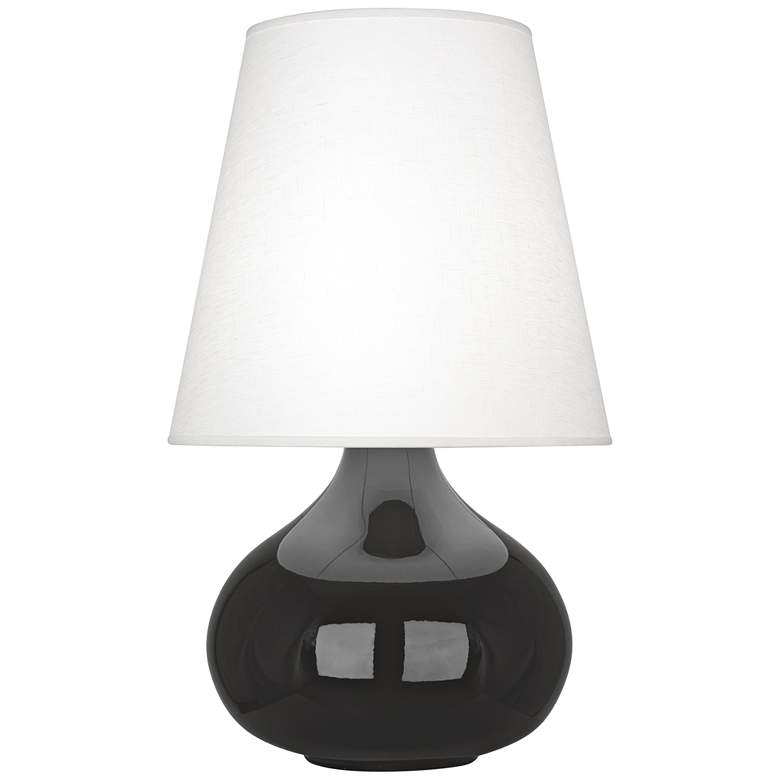 Robert Abbey June Ash Table Lamp with Oyster Linen Shade