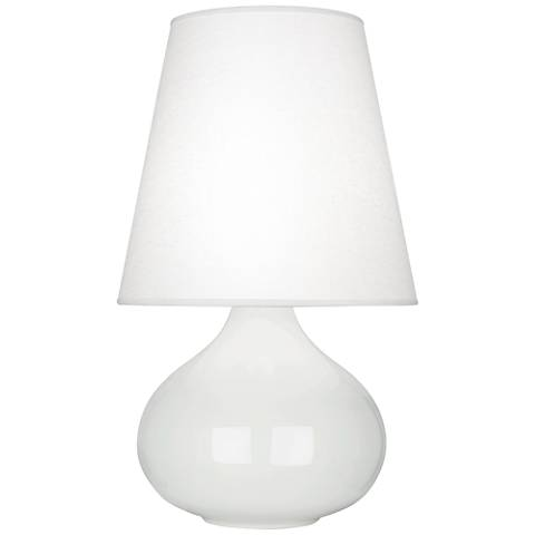 Robert Abbey June Lily Accent Table Lamp with Oyster Shade