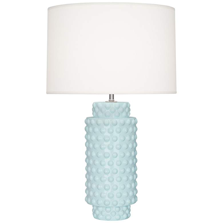 Robert Abbey Dolly Baby Blue Ceramic Table Lamp