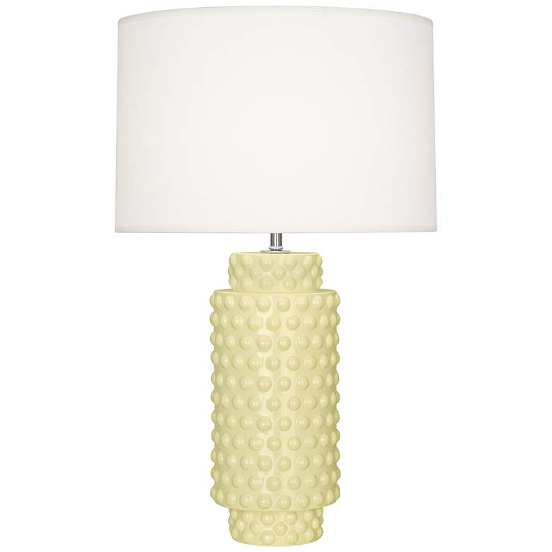 Robert Abbey Dolly Butter Ceramic Table Lamp