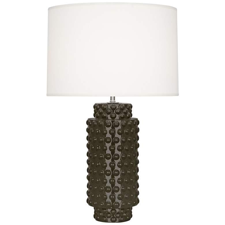 Robert Abbey Dolly Brown Tea Ceramic Table Lamp