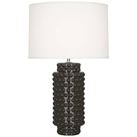 Robert Abbey Dolly Coffee Ceramic Table Lamp