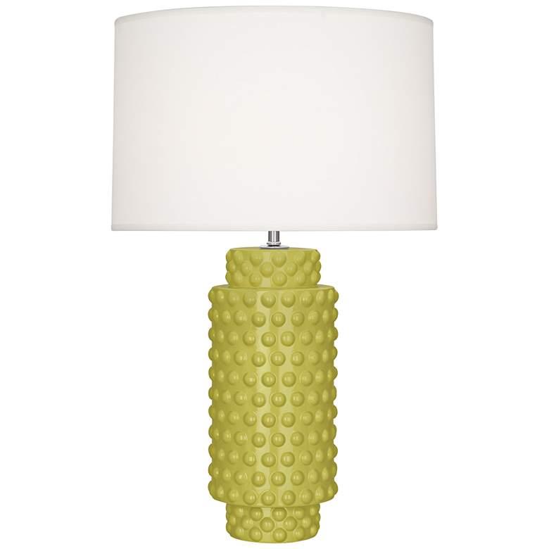 Robert Abbey Dolly Citron Ceramic Table Lamp