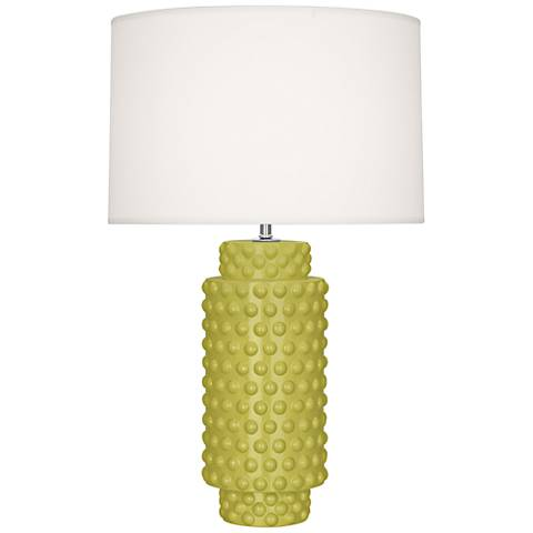 Robert Abbey Dolly Citron Ceramic Table Lamp
