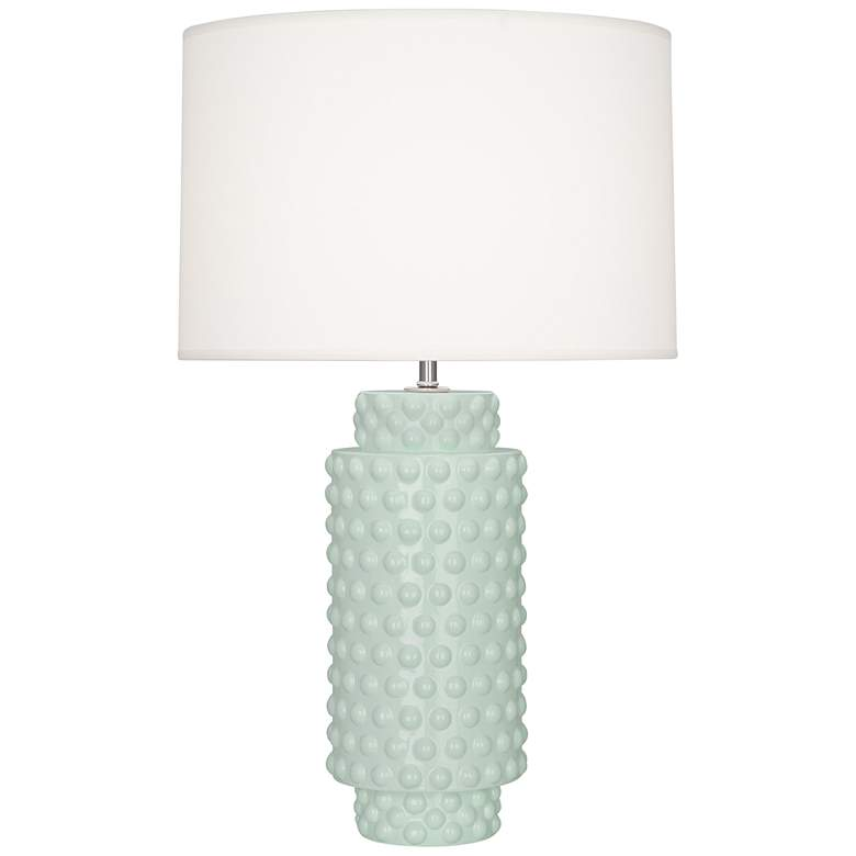 Robert Abbey Dolly Celadon Ceramic Table Lamp
