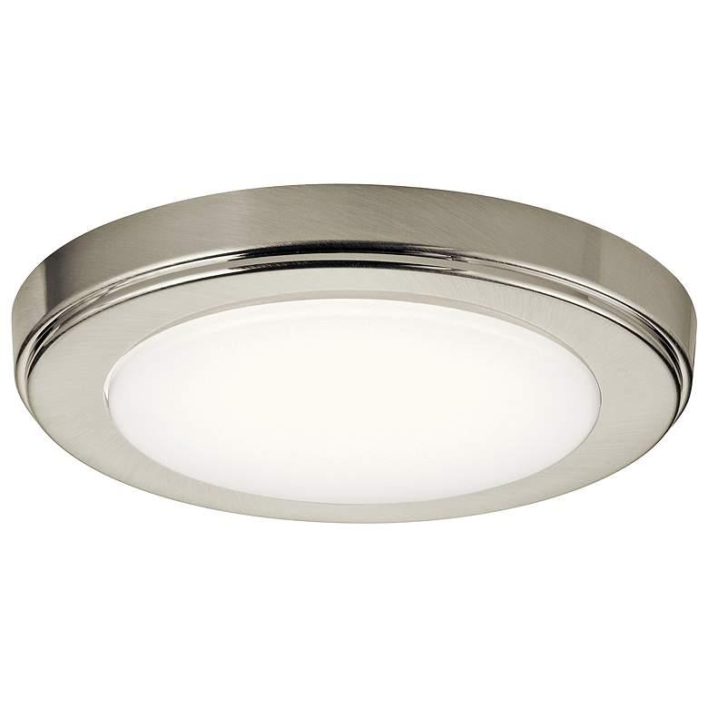 """Kichler Zeo 7""""W Round Brushed Nickel 4000K LED Ceiling Light"""