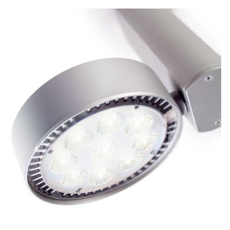 Lightolier Aluminum 15 Watt LED Bullet Track Spotlight