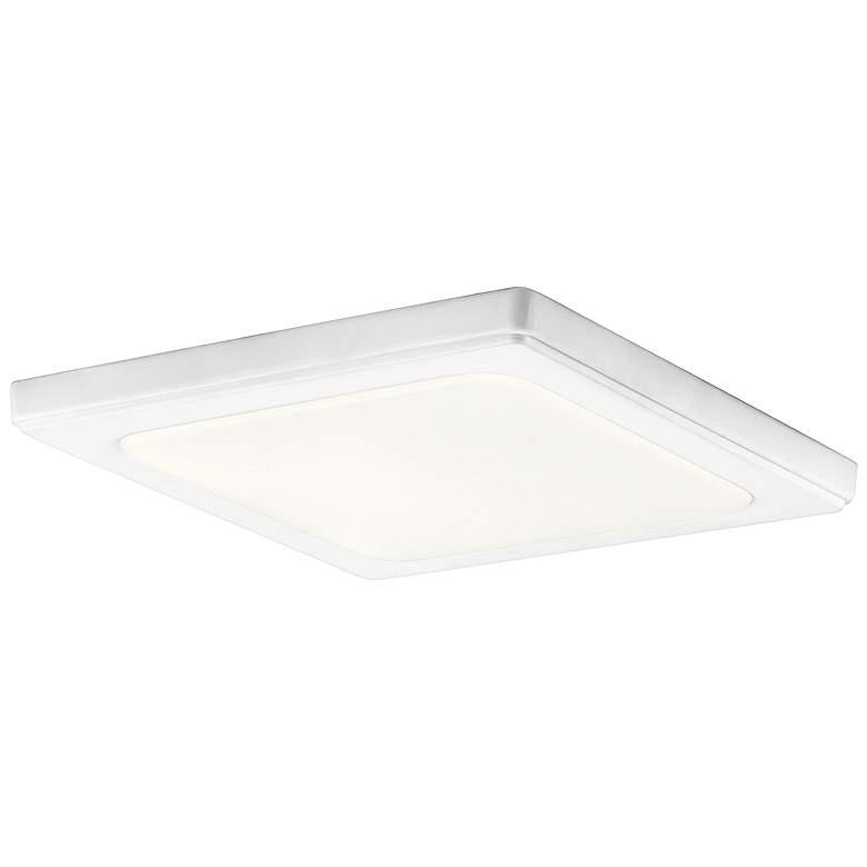 """Kichler Zeo 10"""" Wide Square White 4000K LED Ceiling Light"""