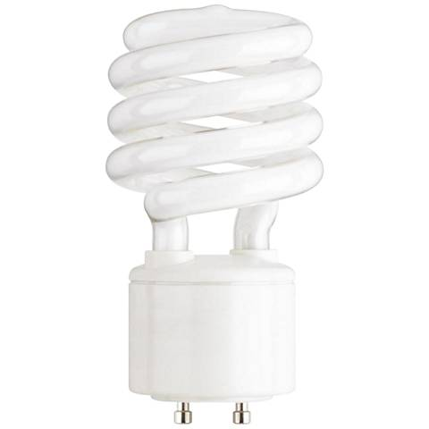 23 Watt GU24 Base CFL Light Bulb