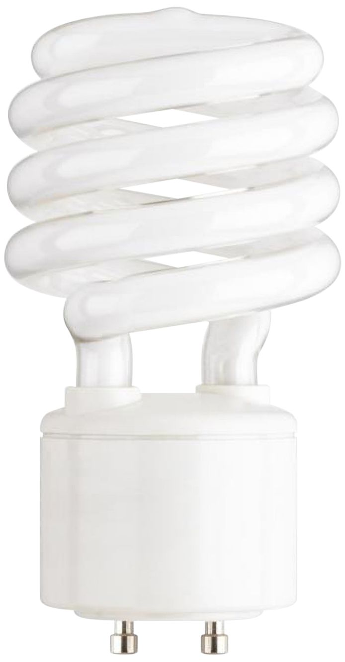 23 Watt GU24 Base CFL Light Bulb