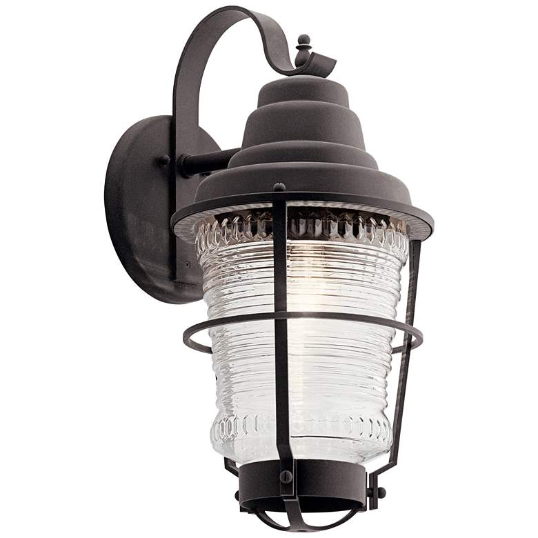 """Chance Harbor 21 3/4"""" High Weathered Zinc Outdoor Wall Light"""