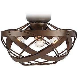Rustic Lodge Fan Light Kits Lamps Plus