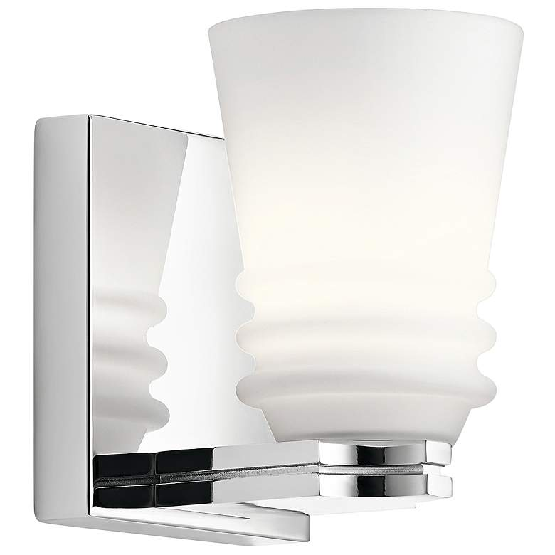 "Kichler Victoria 5 3/4"" High Chrome Wall Sconce"