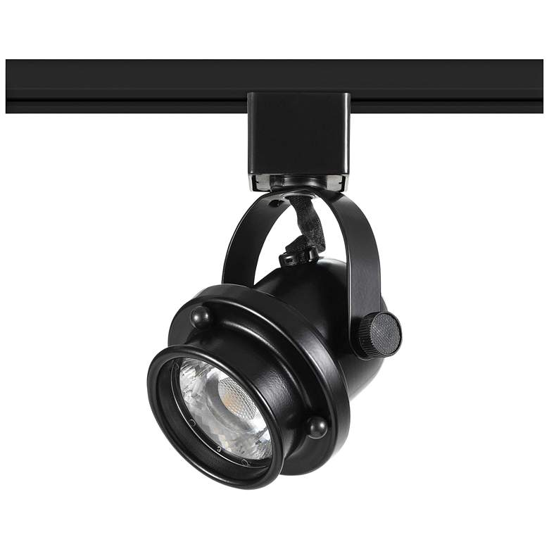 Retro Black 10 Watt Dimmable LED Track Head for Halo System