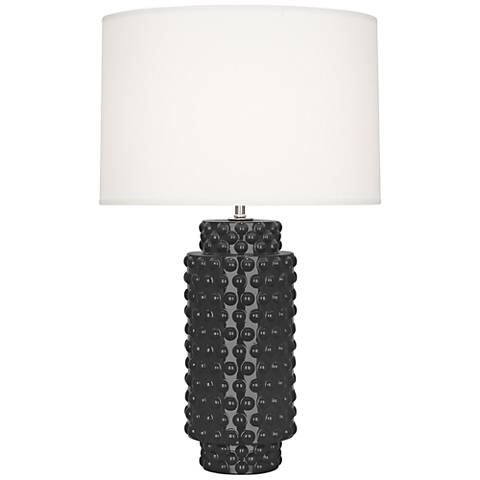 Robert Abbey Dolly Ash Ceramic Table Lamp