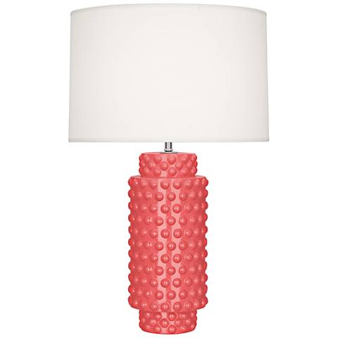 Robert Abbey Dolly Melon Ceramic Table Lamp