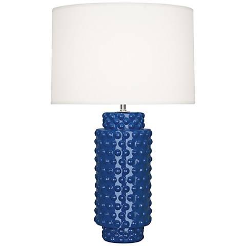 Robert Abbey Dolly Marine Ceramic Table Lamp