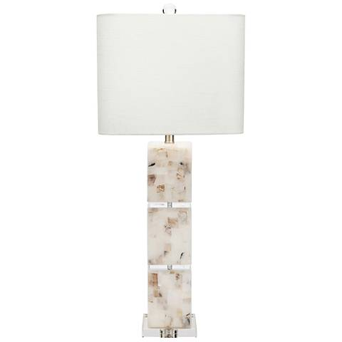 Couture Darcy Natural Calcite Table Lamp
