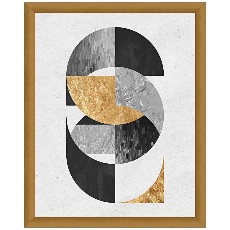 """Sacred Geometry II 15 1/2"""" High Framed Giclee Wall Art"""