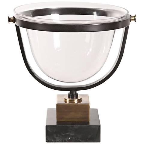 Uttermost Cristian Clear Glass Decorative Bowl