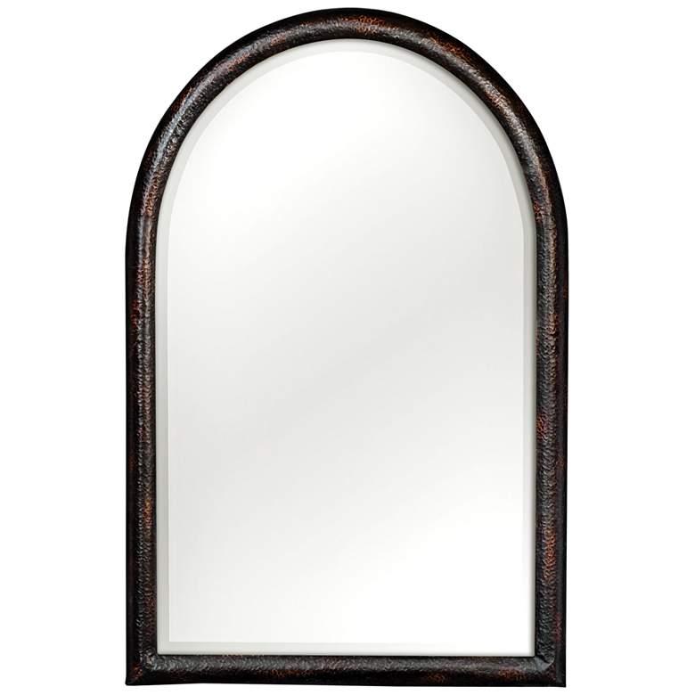 """Uttermost Rada Aged Dark Bronze 30"""" x 46"""" Wall Mirror"""
