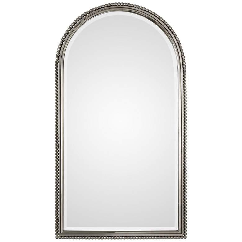 "Uttermost Sherise Brushed Nickel 22 1/2"" x 41"" Mirror"