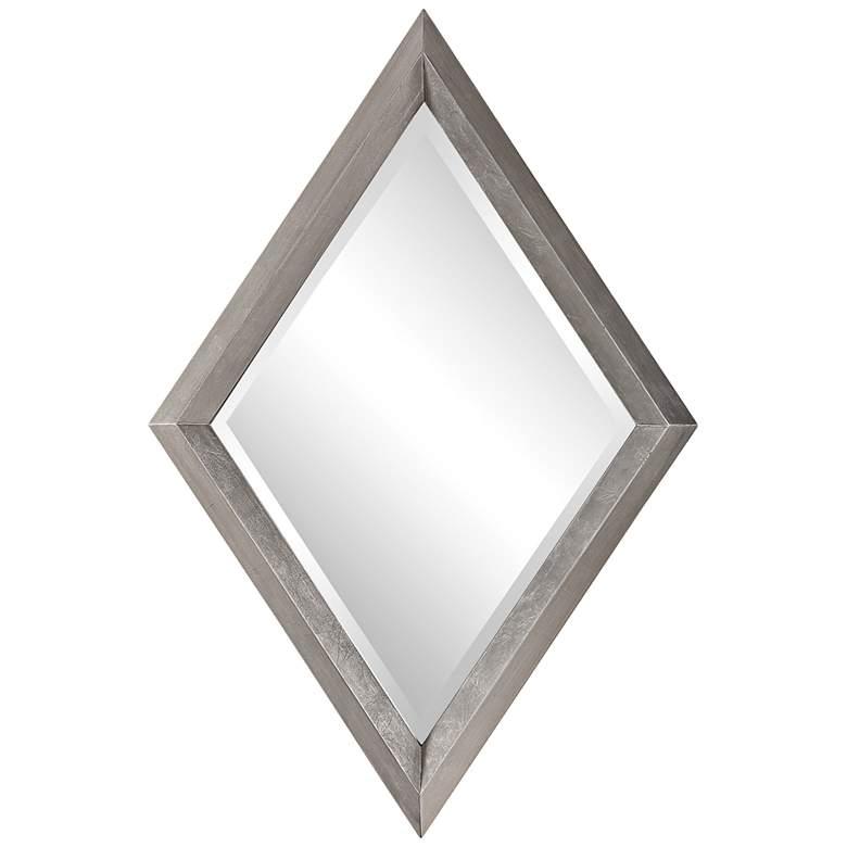 "Uttermost Diamante Silver Leaf 30"" x 45"" Diamond Wall Mirror"