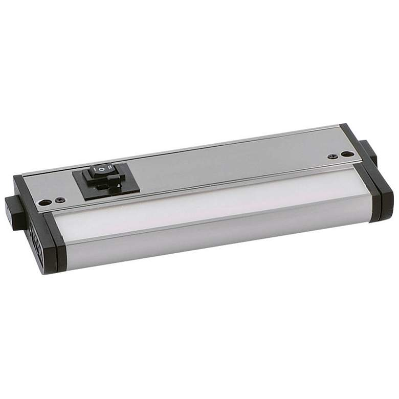 "CounterMax MX-L-120-3K 6"" W Nickel LED Undercabinet Light"