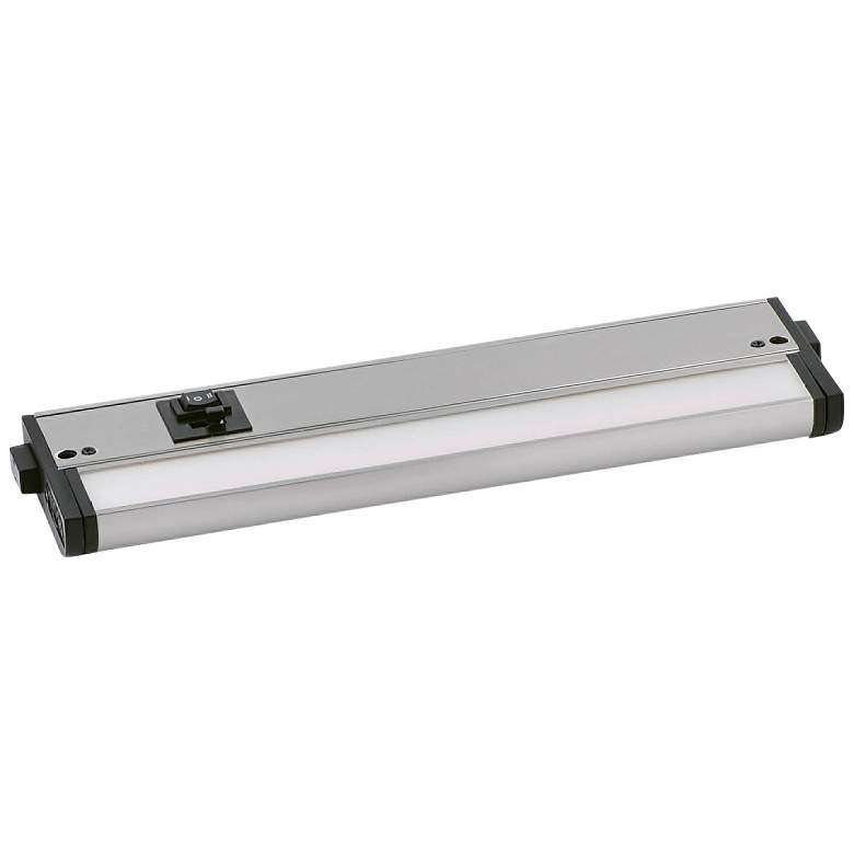 "CounterMax MX-L-120-3K 12"" W Nickel LED Undercabinet Light"
