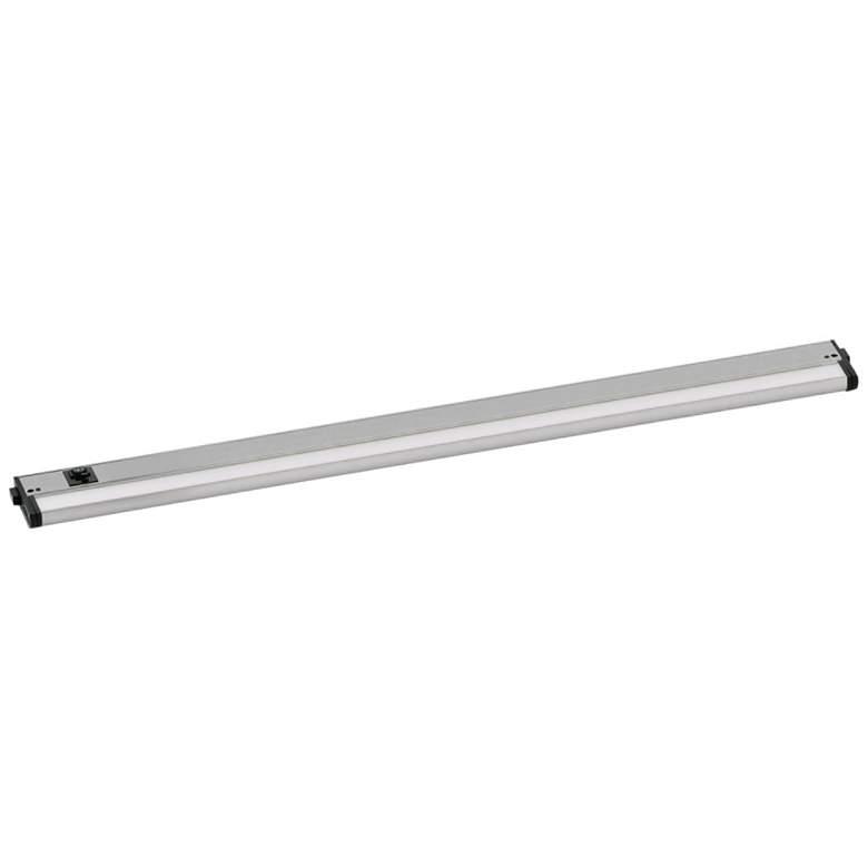 "CounterMax MX-L-120-3K 36"" W Nickel LED Undercabinet Light"