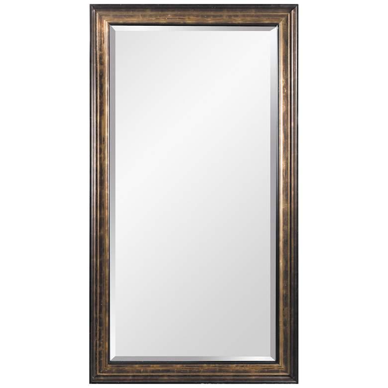 """Beckett Antique Bronze 45"""" x 81"""" Oversized Floor Mirror"""