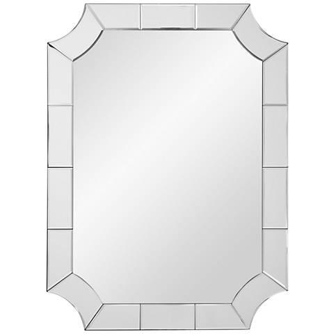 "Reagan Clear Mirror 30"" x 40"" Wall Mirror"