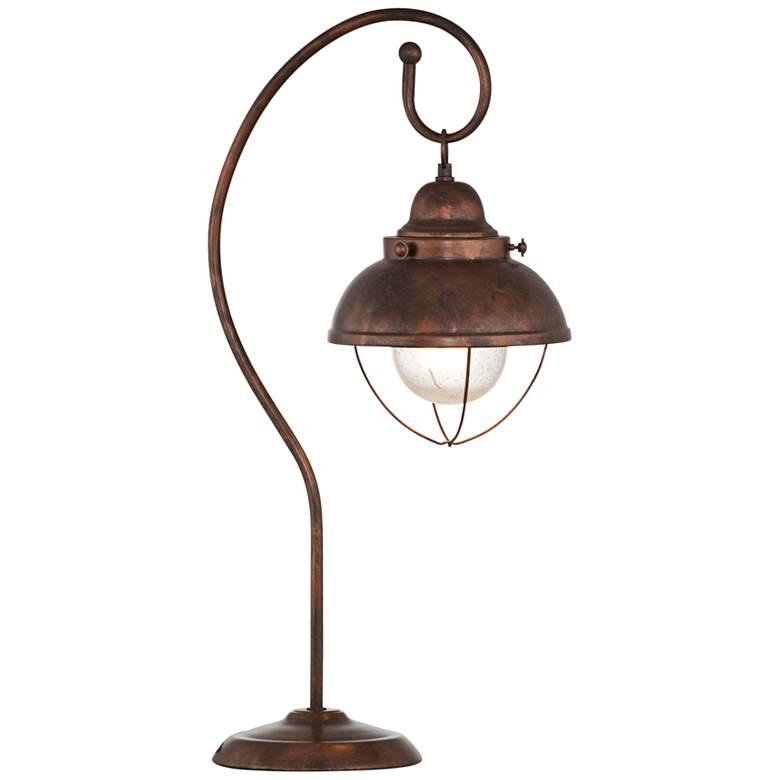 Alleghany Copper Metal Desk Lamp